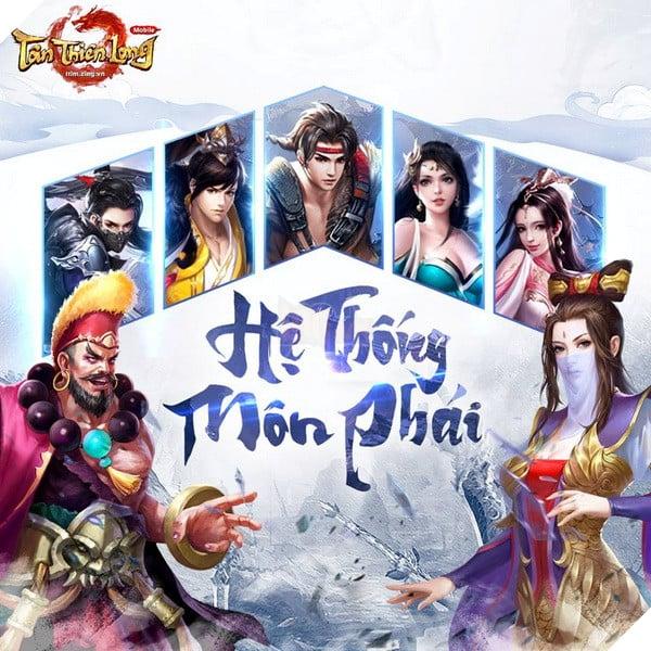 Tân Thiên Long Mobile: Sơ lược tất cả 11 môn phái sẽ sớm ra mắt tại server Việt Nam