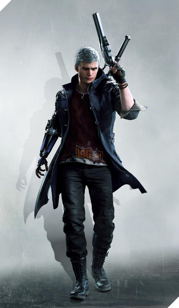 Tổng hợp ảnh nền siêu chất về các nhân vật Devil May Cry 5 - Ảnh 1.