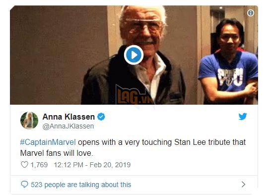 Bố già Stan-Lee sẽ xuất hiện trong bom tấn Captain Marvel, phim sẽ có đến 2 post-credit 5
