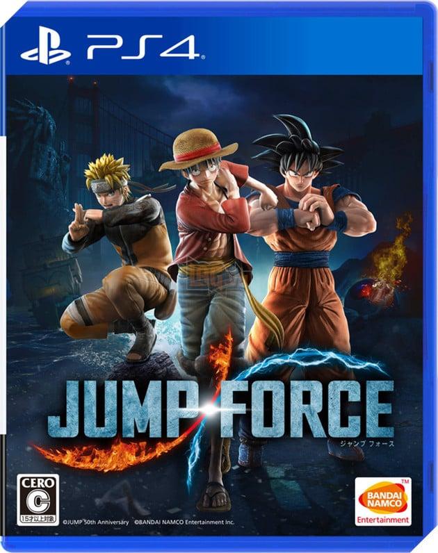 Luffy, Goku và Naruto đấm thủng tường ga tàu điện ngầm để quảng bá cho Jump Force 2