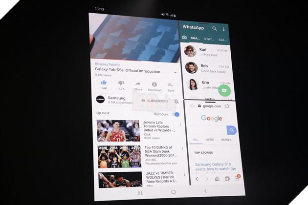 Galaxy Fold: Chiếc điện thoại tự gập đầu tiên của Samsung chính thức ra mắt 2