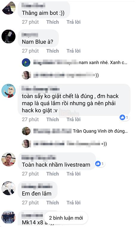 Nam Blue bất ngờ bay acc PUBG Mobile vì bị nghi dùng hack khi stream 3
