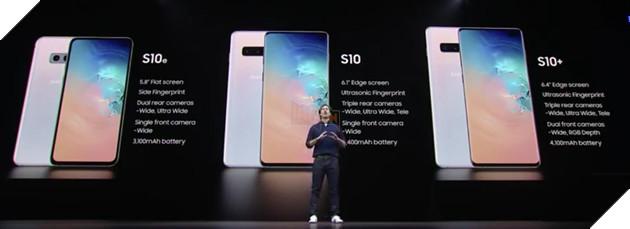 Chi tiết giá và chỉ số cần biết cho 3 phiên bản Samsung Galaxy S10, S10+ và S10e 2