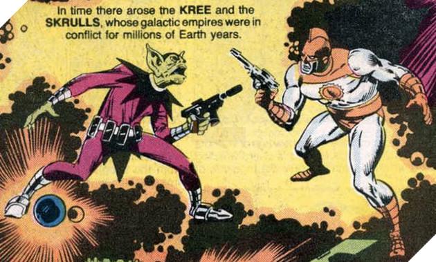 Captain Marvel: Lộ điểm yếu chết người của tộc Skrull