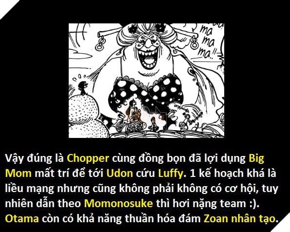 One Piece 924: Chopper thao túng Big Mom tới Udon cứu Luffy - Hé lộ nhân vật Yakuza bí ẩn đứng đầu Wano ngày trước - Ảnh 5.