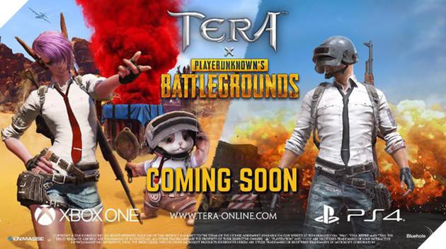 PUBG Mobile tiếp tục hợp tác với Tera Online sau Resident Evil 2 1