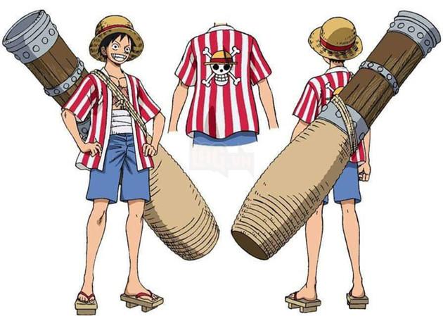 Hé lộ tạo hình băng Mũ Rơm trong One Piece: Stampede, ai cũng trông như đang đi nghỉ mát cả 2