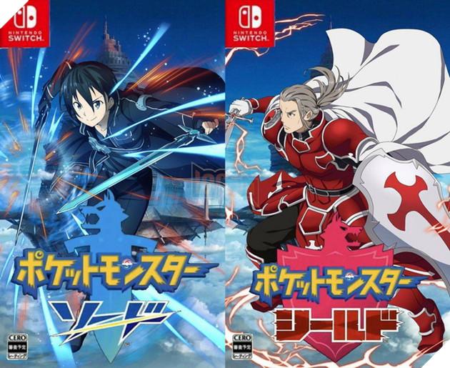 Khi các nhân vật Anime chia nhóm theo Pokemon Sword and Shield mới ra mắt 11