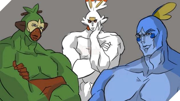 Khi các nhân vật Anime chia nhóm theo Pokemon Sword and Shield mới ra mắt 2