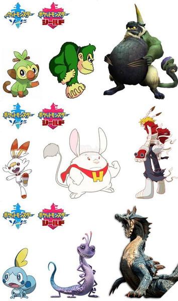 Khi các nhân vật Anime chia nhóm theo Pokemon Sword and Shield mới ra mắt 8