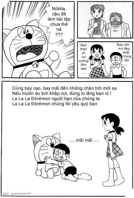 7 cái kết ít ai biết của tựa phim tuổi thơ bất hủ Doraemon 7