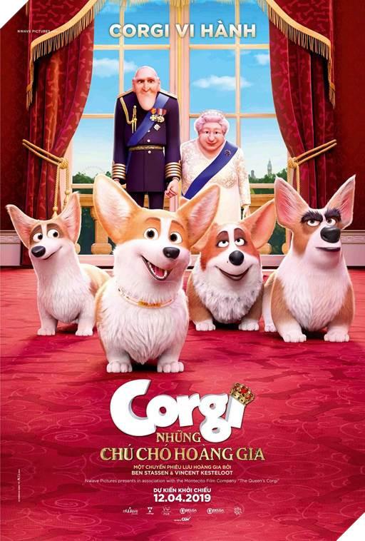 Tổng thống Donald Trump phiên bản hoạt hình gây ấn tượng cùng 'Những chú chó hoàng gia'