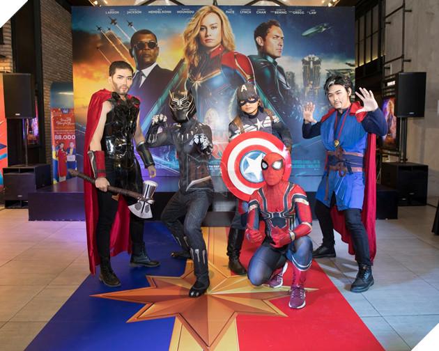 Pew Pew - Misthy cùng dàn khách mời nô nức diện kiến Captain Marvel  3