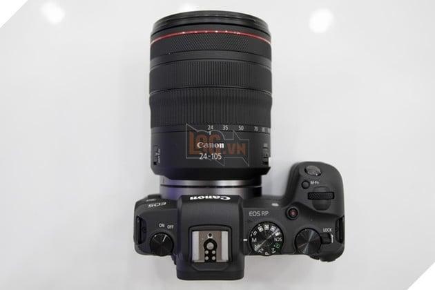 EOS RP và lens RF 24-105mm f/4IS. Nguồn: Lag.vn.