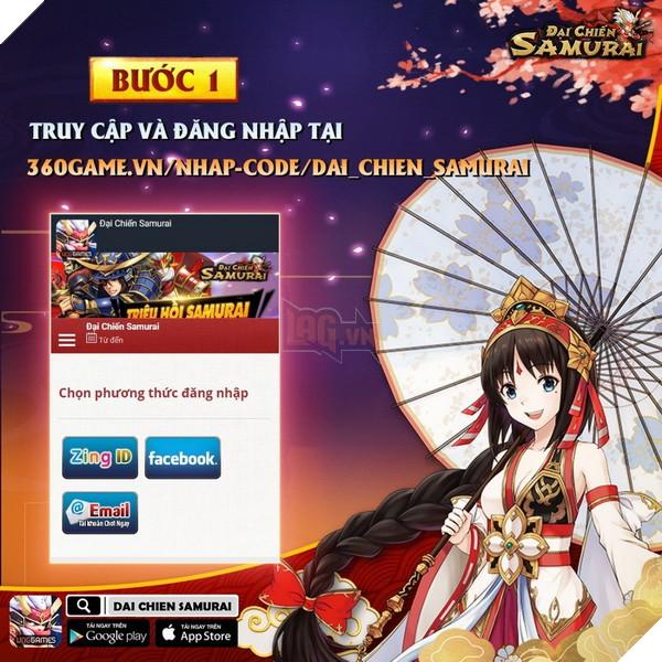 Đại Chiến Samurai tặng code cho game thủ tha hồ trải nghiệm server mới 2