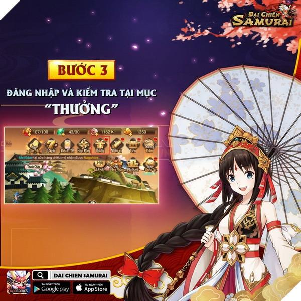 Đại Chiến Samurai tặng code cho game thủ tha hồ trải nghiệm server mới 4