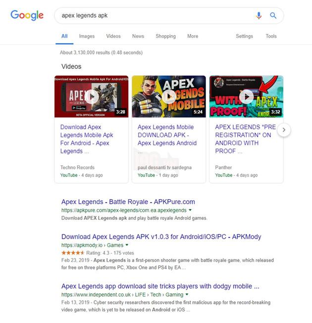 Apex Legends Mobile tiết lộ ngày ra mắt đến tận tháng 11