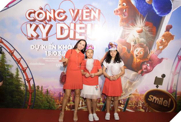 Siêu mẫu Thúy Hạnh, Huỳnh Đông - Ái Châu cùng các con khám phá Wonder Park  6