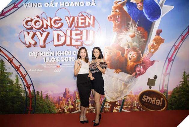 Siêu mẫu Thúy Hạnh, Huỳnh Đông - Ái Châu cùng các con khám phá Wonder Park  8