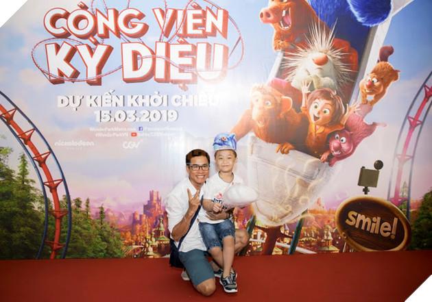 Siêu mẫu Thúy Hạnh, Huỳnh Đông - Ái Châu cùng các con khám phá Wonder Park  10