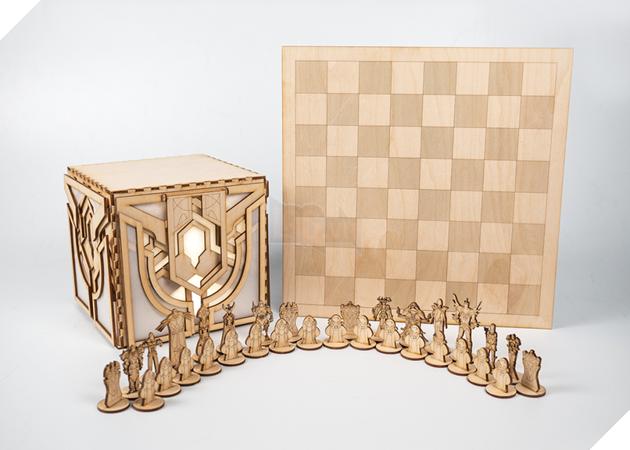 Nữ game thủ tự tay làm bộ cờ vua LMHT để tặng người yêu 4