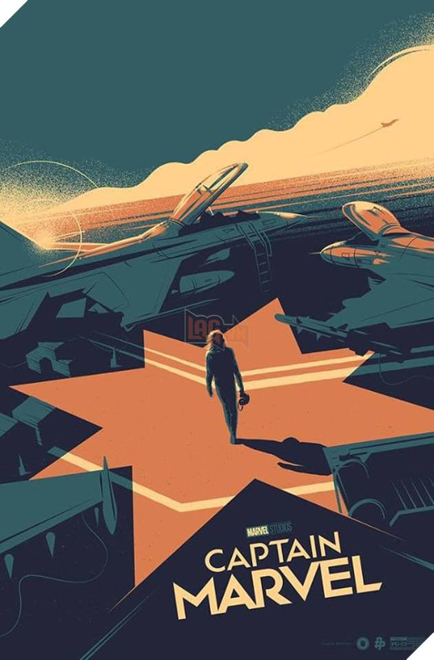 Tổng hợp 10 poster Captain Marvel đẹp nhất được thiết kế bởi người hâm mộ 10