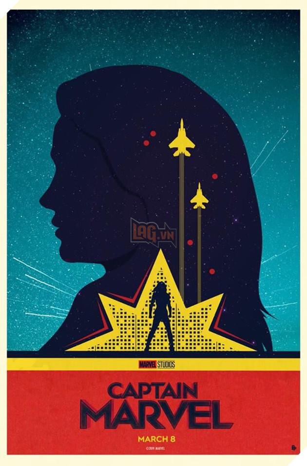 Tổng hợp 10 poster Captain Marvel đẹp nhất được thiết kế bởi người hâm mộ 2