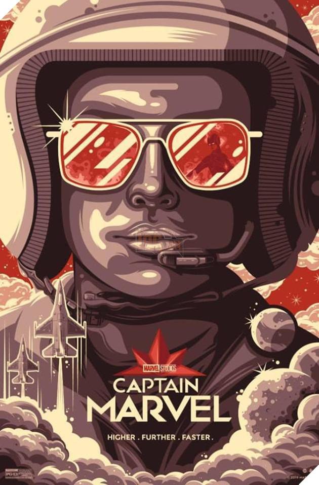 Tổng hợp 10 poster Captain Marvel đẹp nhất được thiết kế bởi người hâm mộ 9