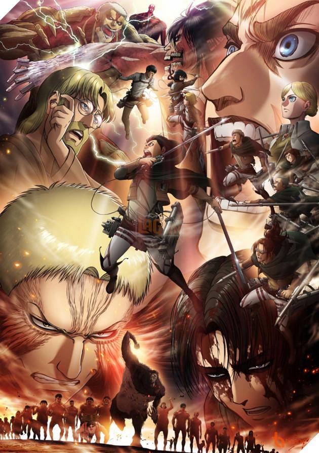 Attatck on Titan Season 3 phần 2 xác nhận ngày ra mắt chính thức và hình ảnh Artwork mới cực đẹp