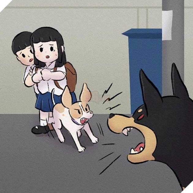Rơi nước mắt với bộ truyện tranh về chú chó nhỏ: 'Xin chào lần nữa' 8