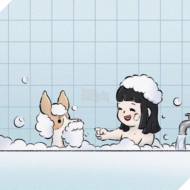 Rơi nước mắt với bộ truyện tranh về chú chó nhỏ: 'Xin chào lần nữa' 7