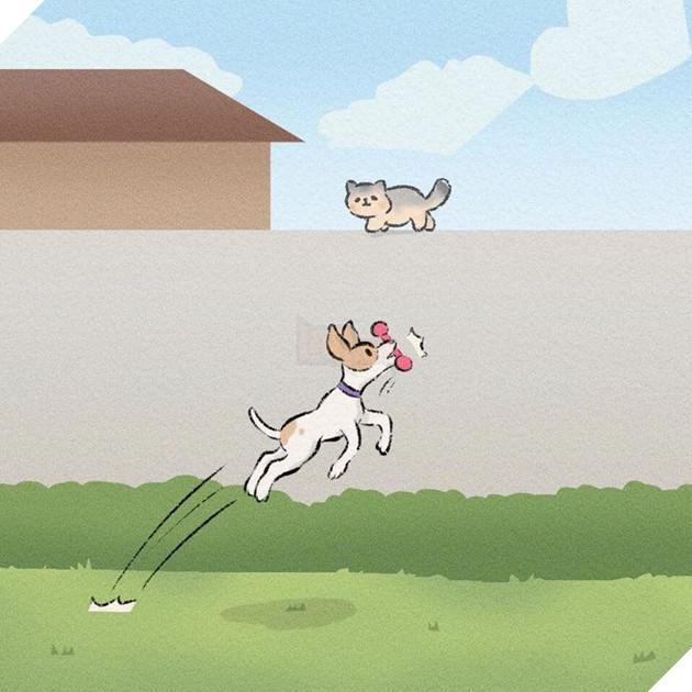 Rơi nước mắt với bộ truyện tranh về chú chó nhỏ: 'Xin chào lần nữa' 11