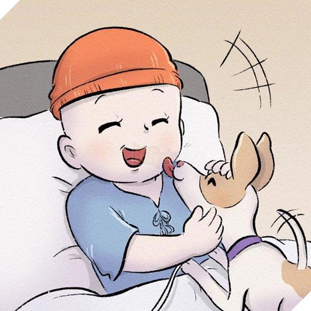 Rơi nước mắt với bộ truyện tranh về chú chó nhỏ: 'Xin chào lần nữa' 16