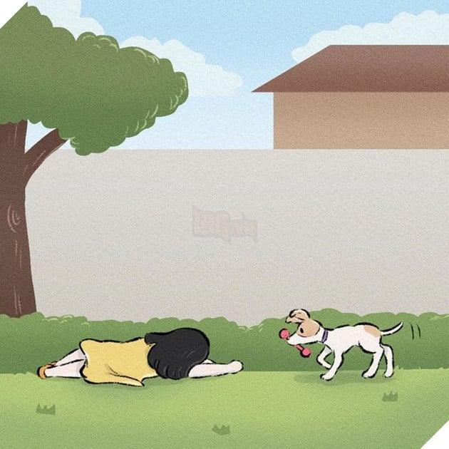 Rơi nước mắt với bộ truyện tranh về chú chó nhỏ: 'Xin chào lần nữa' 12