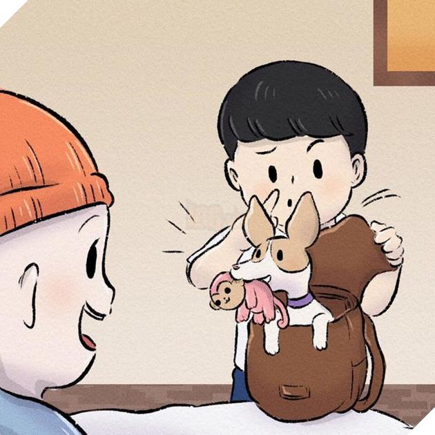 Rơi nước mắt với bộ truyện tranh về chú chó nhỏ: 'Xin chào lần nữa' 15