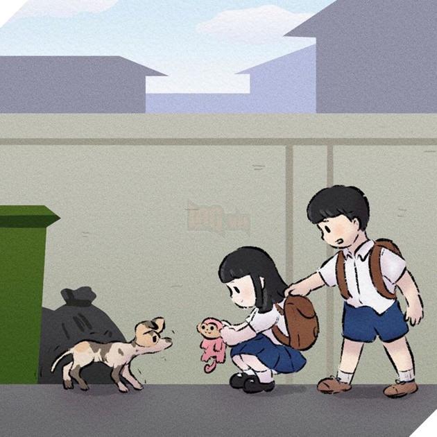 Rơi nước mắt với bộ truyện tranh về chú chó nhỏ: 'Xin chào lần nữa' 3