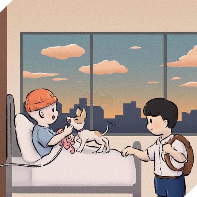 Rơi nước mắt với bộ truyện tranh về chú chó nhỏ: 'Xin chào lần nữa' 17
