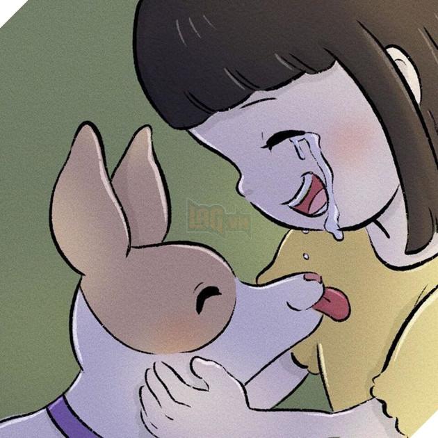 Rơi nước mắt với bộ truyện tranh về chú chó nhỏ: 'Xin chào lần nữa' 23