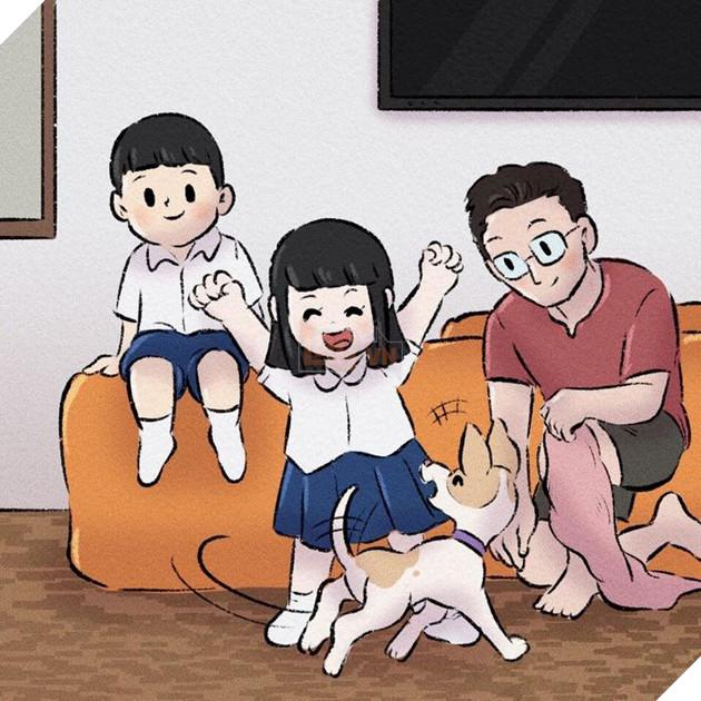 Rơi nước mắt với bộ truyện tranh về chú chó nhỏ: 'Xin chào lần nữa' 6