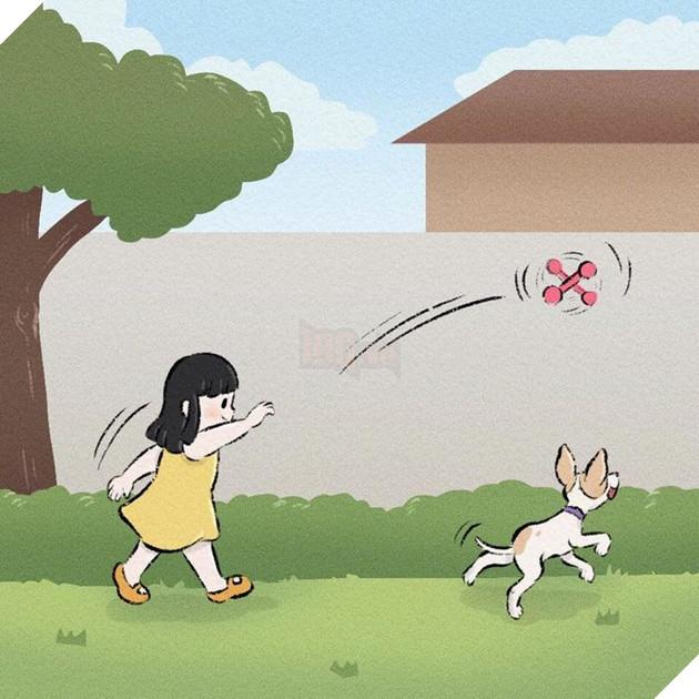 Rơi nước mắt với bộ truyện tranh về chú chó nhỏ: 'Xin chào lần nữa' 10