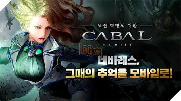 Cabal Mobile cho Android là game MMO sắp ra mắt dựa trên trò chơi PC cổ điển cùng tên
