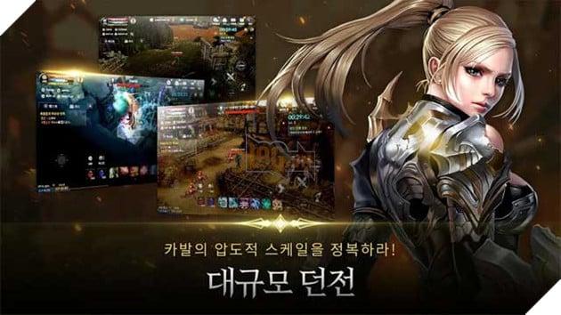 Game có nhiệm vụ Dungeon kịch tính và vô số quest đầy thử thách