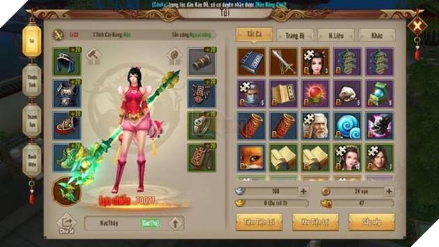 Khám phá bộ tuyệt kỹ trấn phái trong Tân Thiên Long Mobile