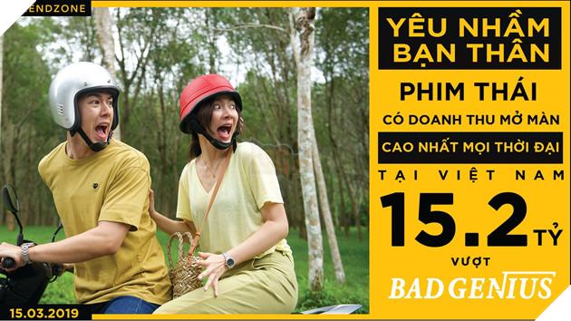 Vượt mặt Bad Genius , Friend Zone trở thành phim Thái có doanh thu mở màn cao nhất tại Việt Nam