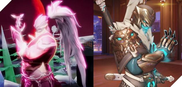 Hayate - Tướng mới nhất của LQM bị cho là mượn hình ảnh của Genji lẫn ulti của Reaper Overwatch