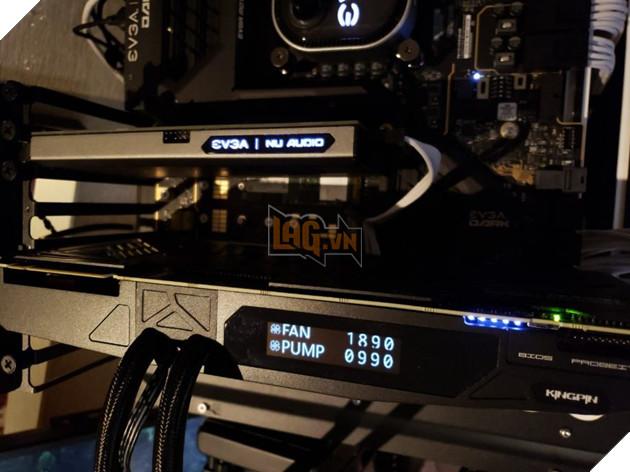 EVGA GeForce RTX 2080 Ti KINGPIN Hybrid - Quái vật đồ họa với chỉ số ép xung đạt kỷ lục 3