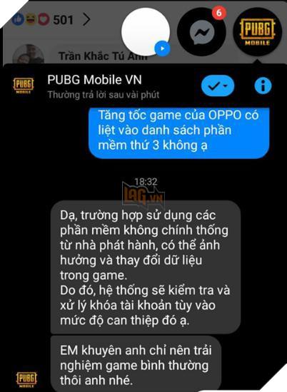 Hệ thống chống hack của PUBG Mobile gặp vấn đề, dùng boost app vẫn
