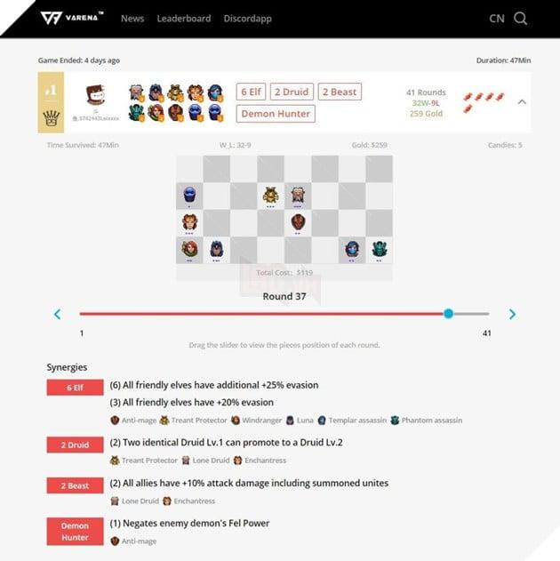 Dota Auto Chess - Hướng dẫn công cụ giúp bạn check lịch sử trận đấu và rank của mình 1 cách đơn giản