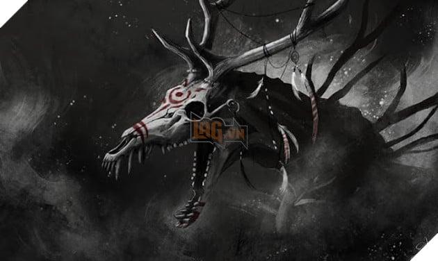 Truyền thuyết đáng sợ về quái vật ăn thịt người Wendigo