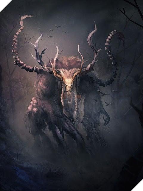 Truyền thuyết đáng sợ về quái vật ăn thịt người Wendigo 3